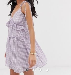 Lost Ink checkered dress